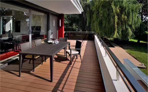 outdoor wpc deck material china