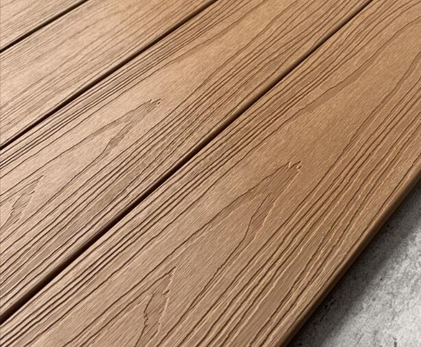 3D embossing composite deck board