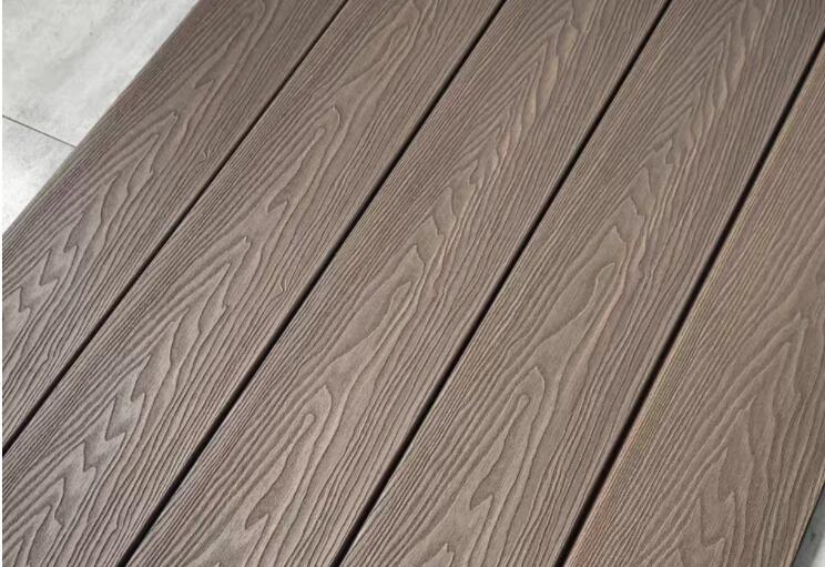 3d wood texture composite deck board