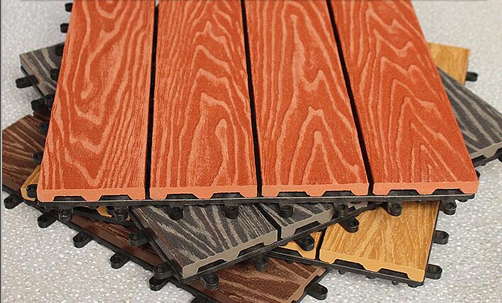 DIY deck tile