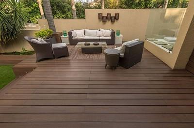 outdoor wpc deck board