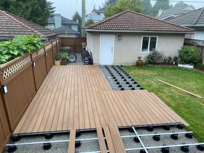 China composite deck board
