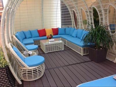 outdoor deck material