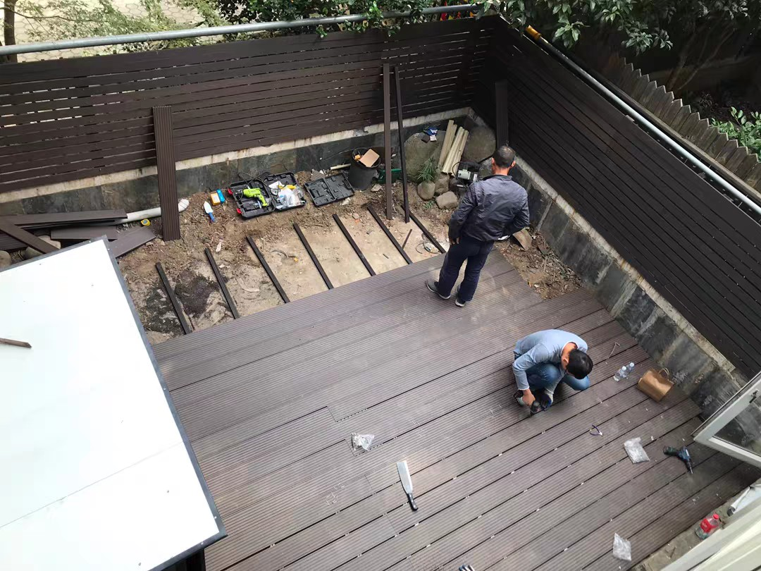 OUTdoor wpc deck project