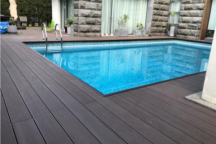 Swimming pool WPC board
