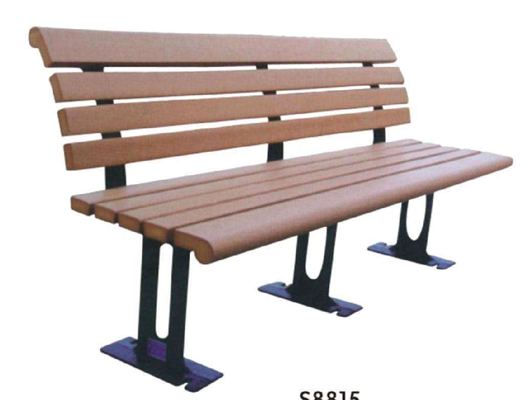 WPC bench garden