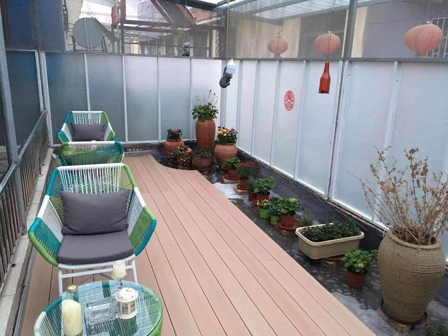 WPC outdoor deck CHIna