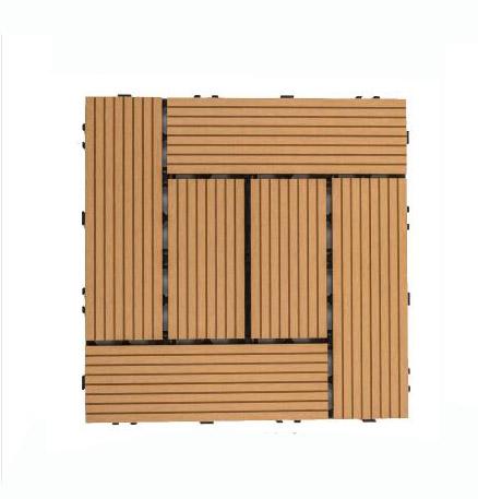 china wpc deck tile