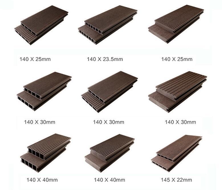 composite deck board in china