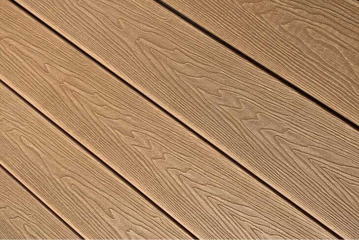 emboss wpc deck board