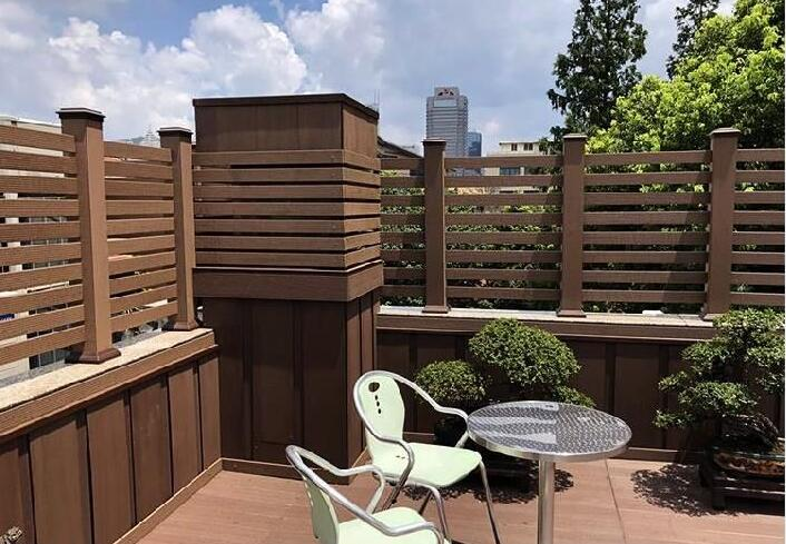 fence for terrace