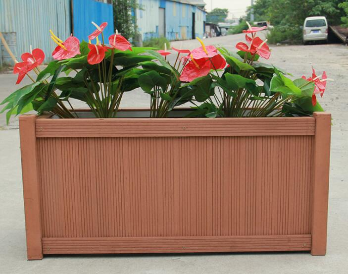 flower pot made of WPC