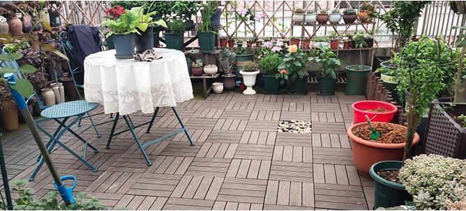 terrace wpc deck tiles