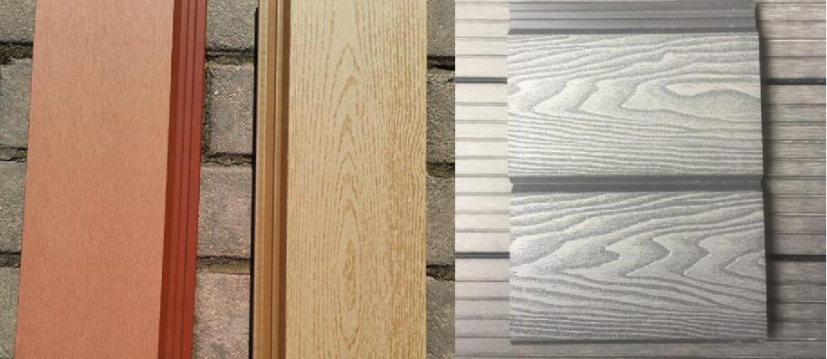 wood grain wpc wall cladding china