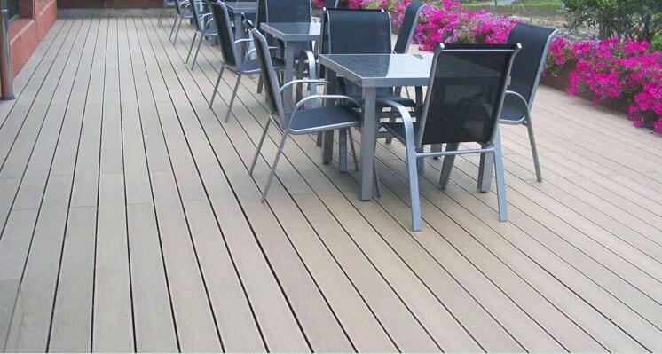 wood plastic composite deck board china